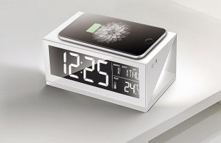 Wireless Charger with Clock, Calendar, Temperature display and Night Light. #Boytone Everything you need.