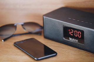 Everything you need. Ready to go.  The #Boytone Bluetooth Portable Clock Radio. #TakeYourMusicAnywhere  Press 👉 link in bio to grab yours.