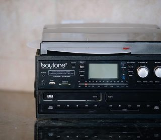 Fit for everything.  The #Boytone system featuring Bluetooth, Vinyl, CD, Cassette & MP3 all in one fine crafted system.